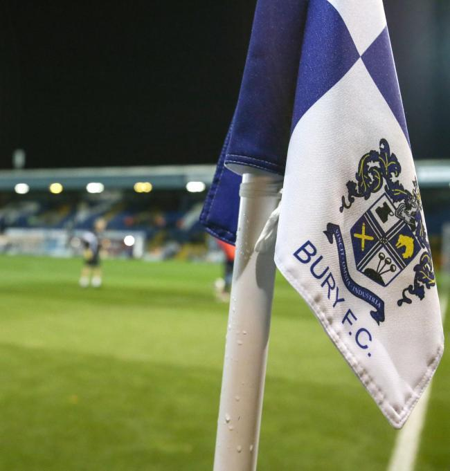 Bury: Opening game suspended