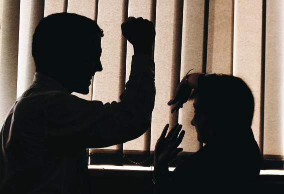 A generic picture of Domestic violence. MILTON HAWORTH REF;0276082.