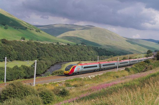 DISRUPTION: Rail services on the west coast main line are affected	Picture: Virgin Trains