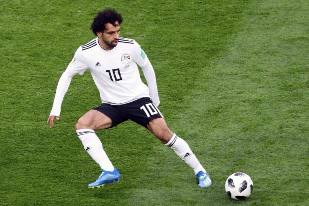 Mohamed Salah gave Egypt a two-goal cushion before half-time