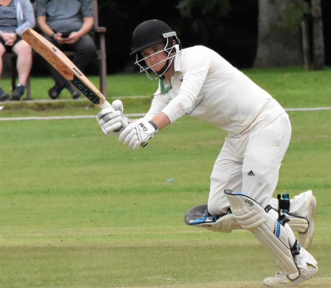 Ben Davidson: Scored 86 for Cumberland in their first innings (Photo: Ben Challis)