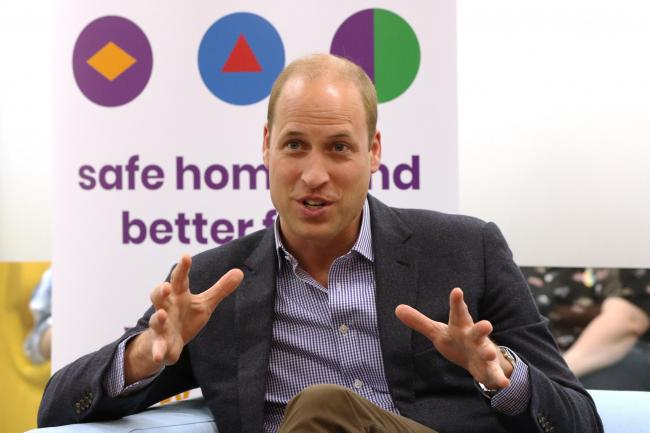 Duke of Cambridge visit to Albert Kennedy Trust