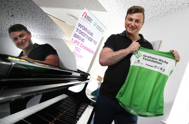 MARATHON: Collabro star Matt Pagan, pictured, will take on the Great North Run in September for children's charity, the Graham Wylie Foundation        Picture: Crest Photography