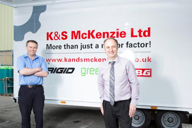 Alastair and Stuart McKenzie or K&S McKenzie.