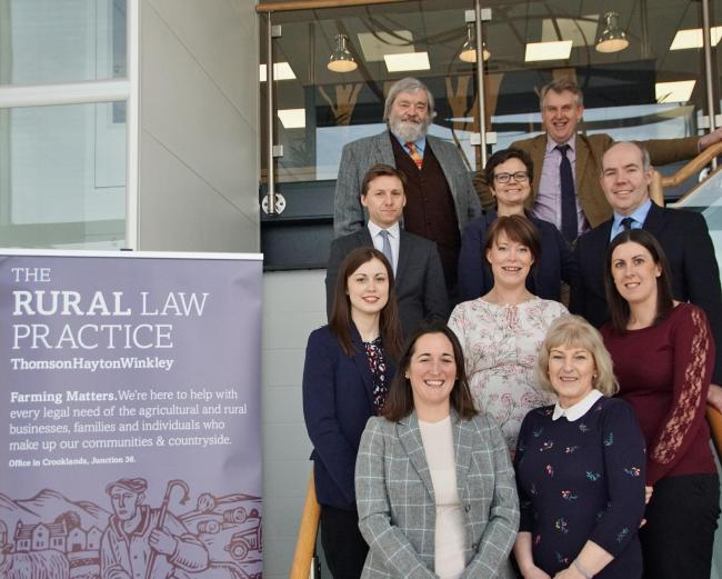 The Rural Law Practice, part of Thomson Hayton Winkley, from Cumbria has been shortlisted in the North Category at the 2019/20 Rural Business Awards, held in partnership with Amazon.