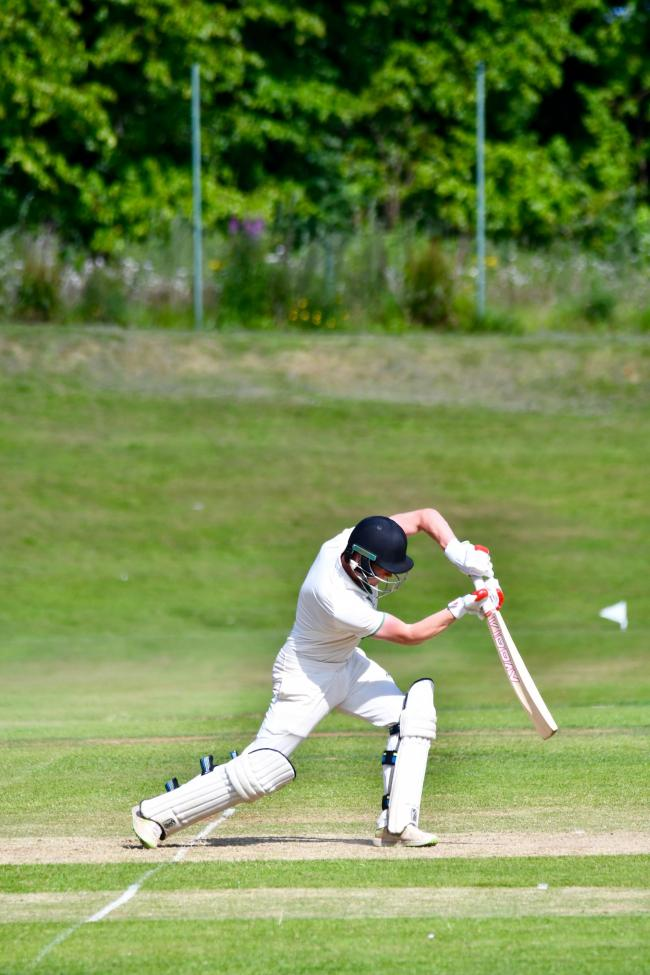 Ben Davidson: Scored an unbeaten 42 for Carlisle against Lindal to help his side go top of the table (Photo: Mark Mcalindon)