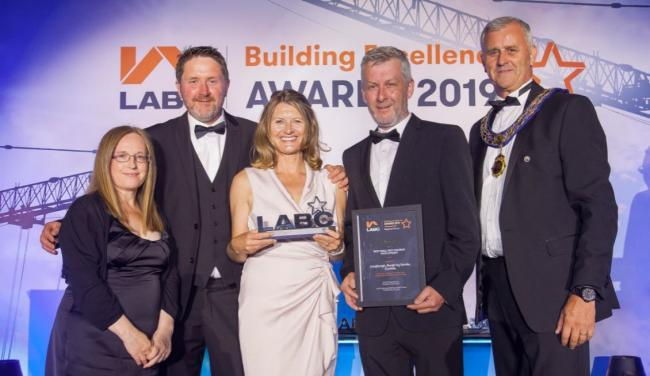 Maris Properties win Best Small Housing Development at the Northern LABC Building Excellence Awards