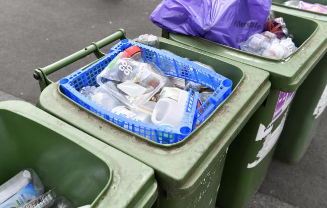 Glass, cans and plastic are not currently being collected from homes in Allerdale. Picture: Stuart Walker