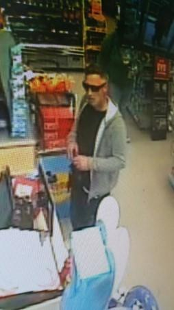 Officers would like to speak with the man pictured as part of their investigations