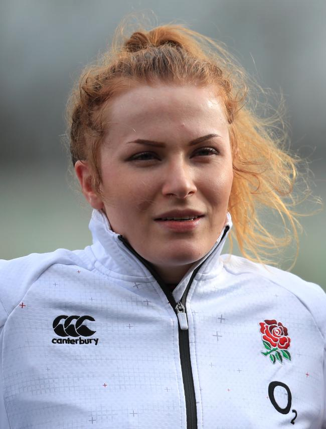 England star: Cumbrian Cath O'Donnell (Photo: Press Association)