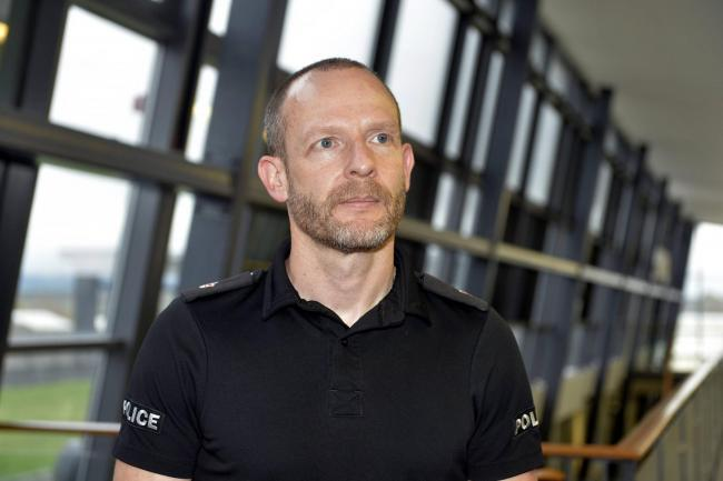 Superintendent Justin Bibby of Cumbria Police