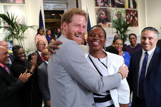Duke of Sussex at Commonwealth Youth Roundtable