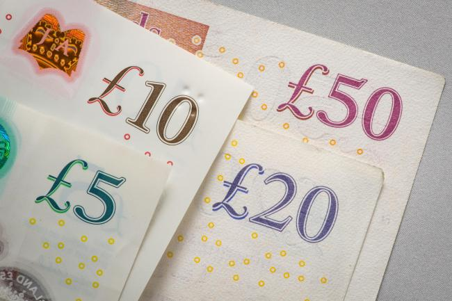 File photo dated 25/01/18 of money. One in 10 UK adults rarely uses cash at all, but one in 25 still relies on it as their main spending method, a report has found. PRESS ASSOCIATION Photo. Issue date: Thursday June 6, 2019. UK Finance said 10% of consum