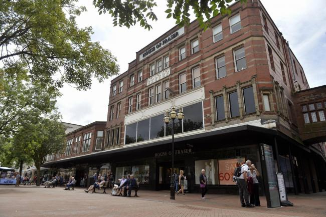 General exterior view of the House of Fraser store in English Street Carlisle. The comapny announced that they planned to close a number of their store across the country: 2 August 2018..STUART WALKER.