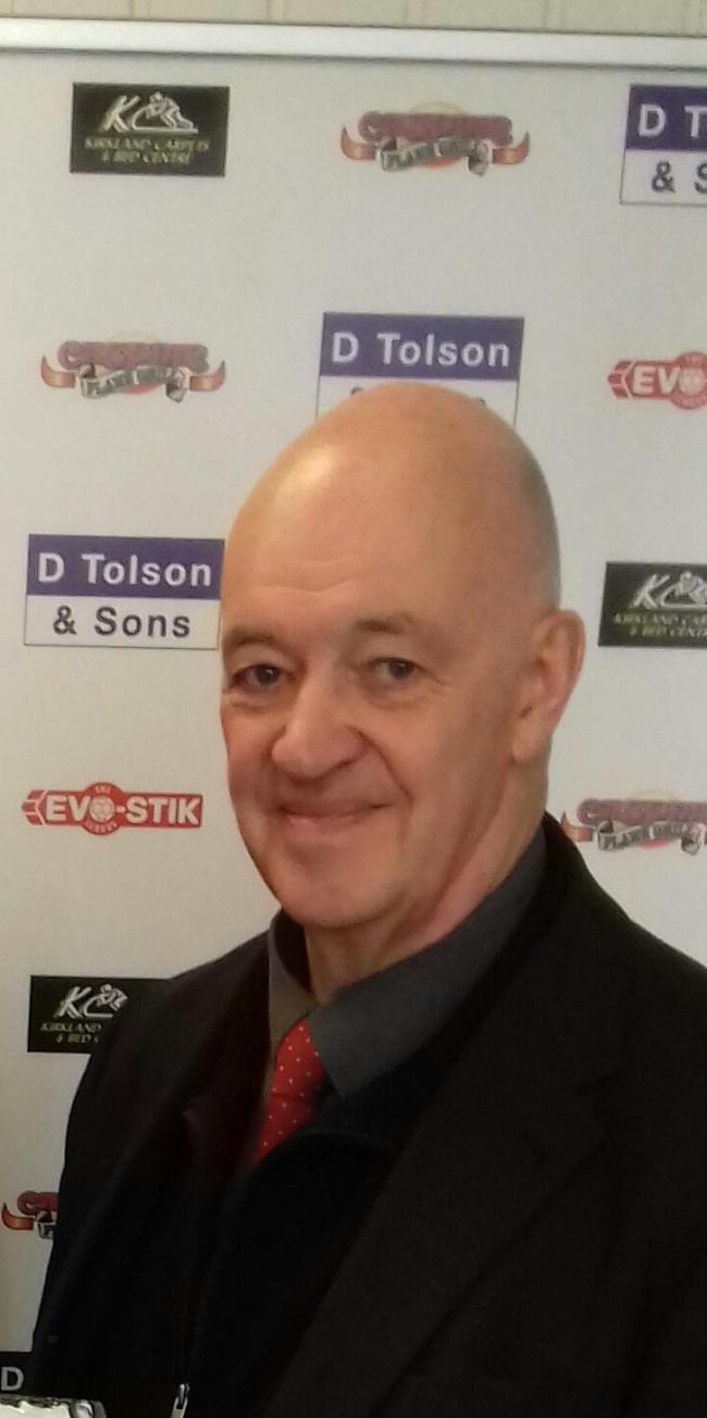 Workington Reds director Don Blackwell has resigned