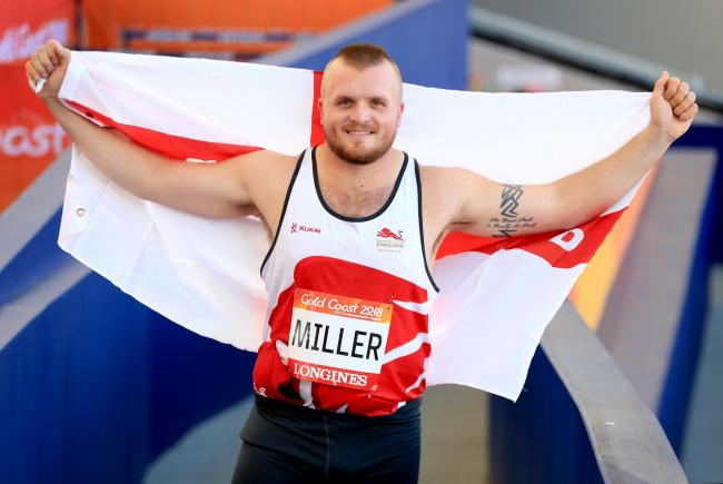Selected: Scotby hammer thrower Nick Miller will compete at next month's European Team Championships Super League meeting