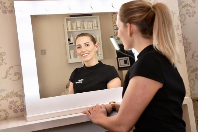 England's Business Awards...Chloe Warton who runs Chloà 	«'s Beauty salon on Cecil Street in Carlisle and has just won the Cumbria Retail Business Award 2019 for the Best Beauty Salon in Cumbria.. MARCH 13th 2019.DAVID HOLLINS.