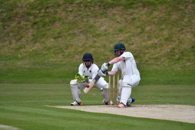 Alex Grainger: The Cockermouth skipper held his side together with a fine 52 in their County Cup semi-final win over Dalton (Photo: Mark Mcalindon)