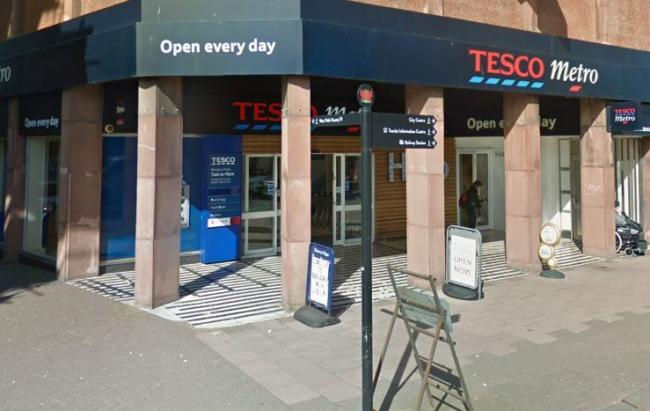 Staffing: The Tesco Metro at Victoria Viaduct in Carlisle.                                         Photo Google Street View
