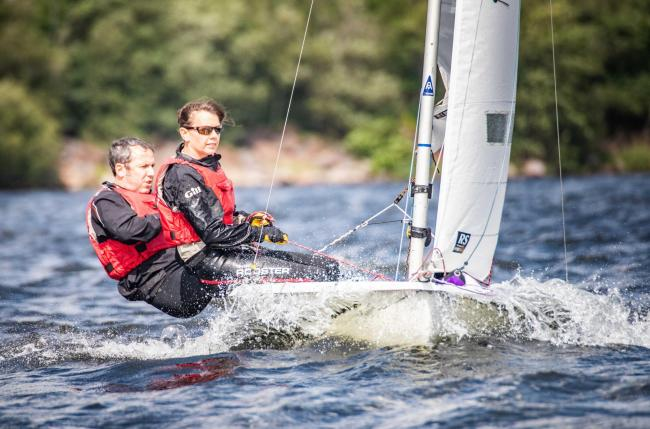 n Action from Bass Regatta 				Picture: Peter Mackin