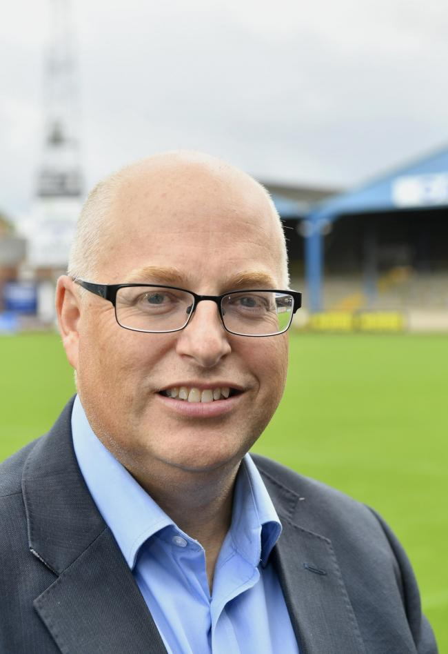 IN TALKS: Nigel Clibbens, chief executive of Carlisle United		STUART WALKER.