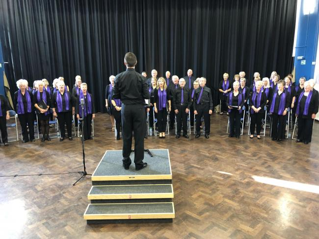 Musical medleys and timeless hits at choir district show