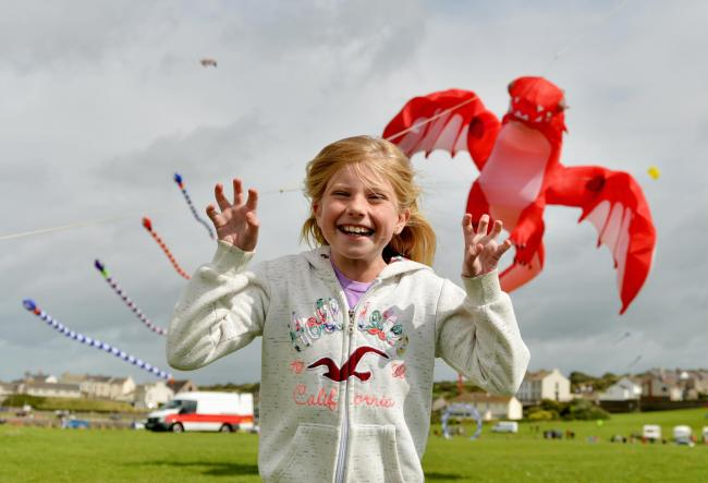 Workington Town Council is holding its Kite Festival in Harrington on Saturday and Sunday.