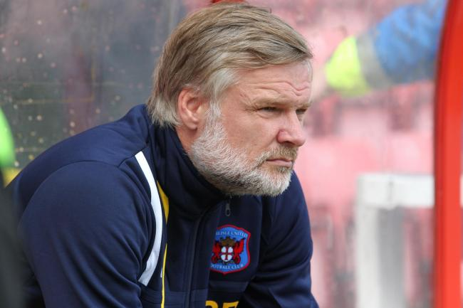 Steven Pressley: His Carlisle United team have been drawn away to Rochdale in the Carabao Cup second round (Photo: Barbara Abbott)