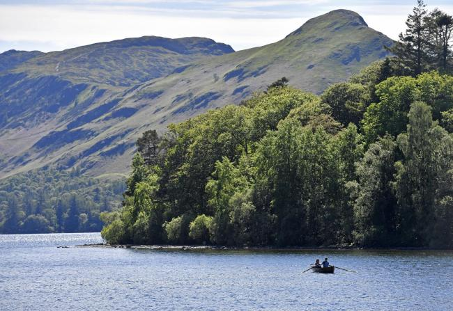 Flood fears: Derwentwater