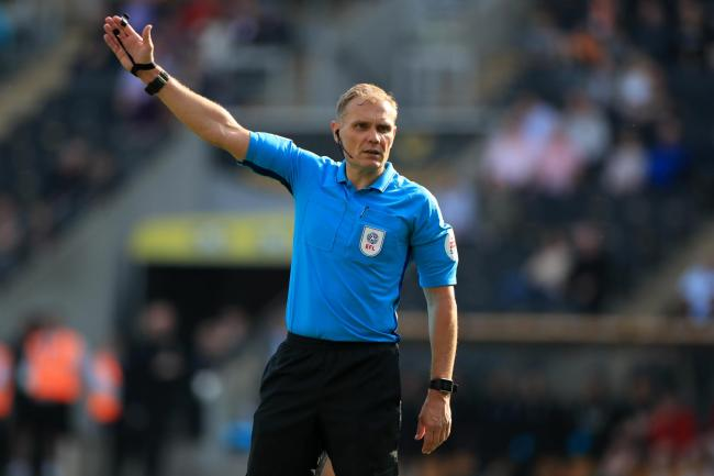 Graham Scott was unable to take charge of Chelsea's match against Leicester after getting stuck in traffic