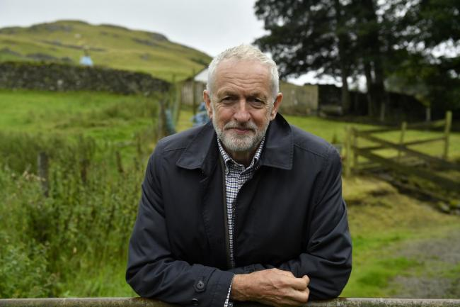 ELECTION: Labour Leader Jeremy Corbyn, who visited Cumbria in August 		Picture: Stuart Walker.