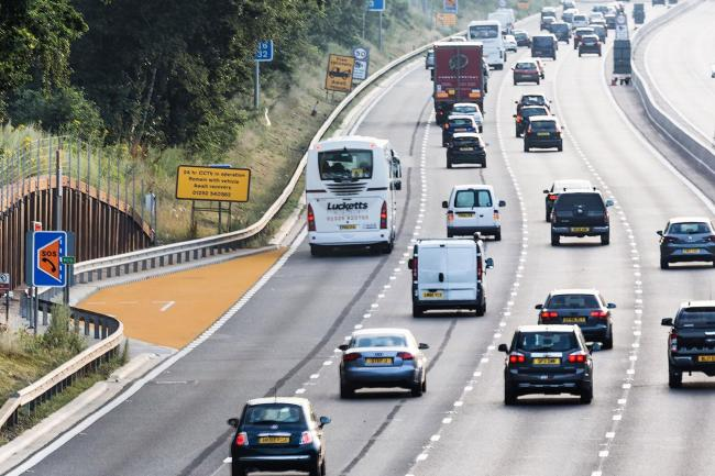 Smart motorways feature lay-bys for emergencies (Highways England/PA)