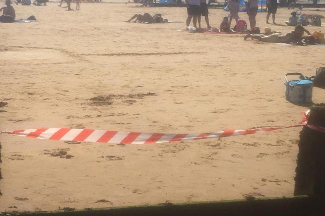 Frinton seafront incident