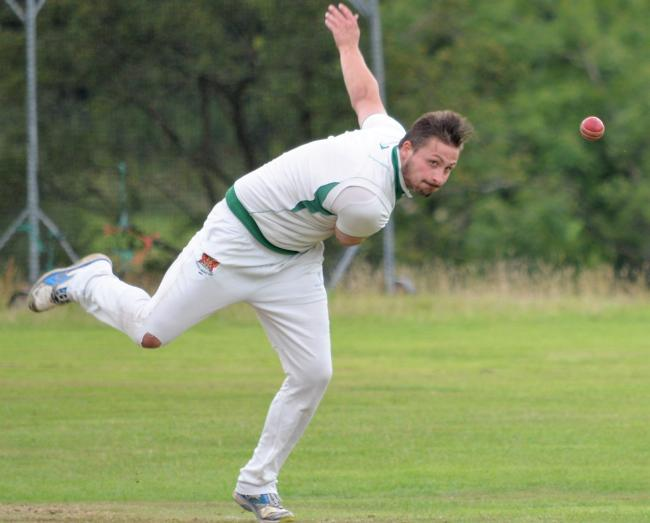 Jordan Oultram: Took five wickets for no runs for Carlisle Cricket Club's third-team (Photo: Ben Challis)
