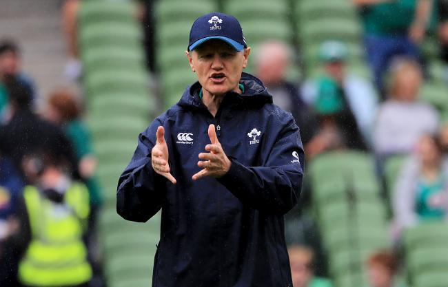 Joe Schmidt: Has selected Will Addison to start against Wales (Photo: PA Media)