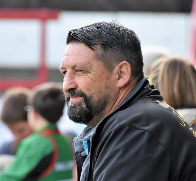 n Head coach Gary Charlton is confident his team will ready for the step up to the Championship after their start to pre-season training							   BEN CHALLIS