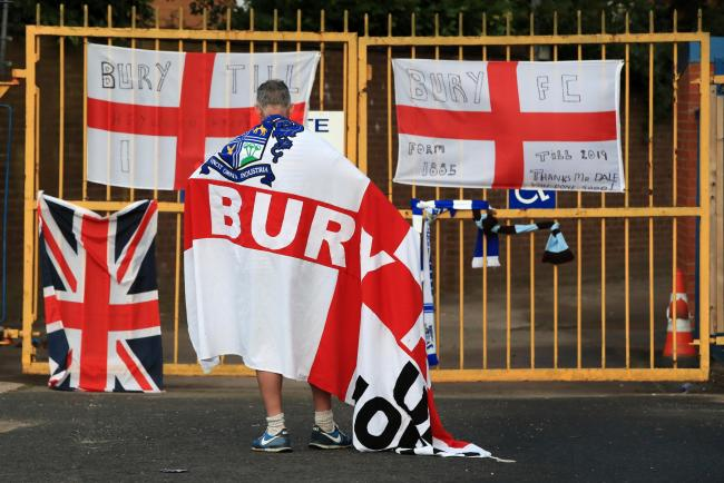 Bury: Expelled from the EFL