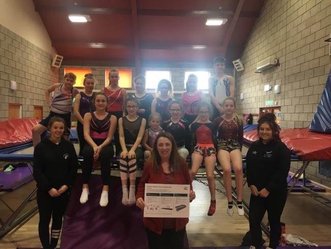 MOVING FORWARD: A surgery at Yewdale Community Centre attracted 30 - 40 residents, coaches, parents and members of the Carlisle Trampoline Club