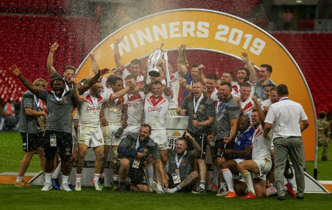 n Sheffield Eagles won last year's first staging of the 1895 Cup 	       PA