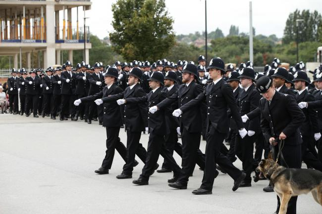 Metropolitan Police passing-out parade