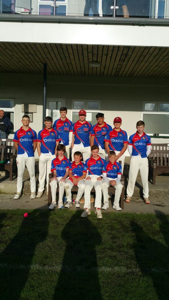Victory: Wigton Cricket Club's Under-19s won the T20 County Cup, beating hosts Kendal in the final