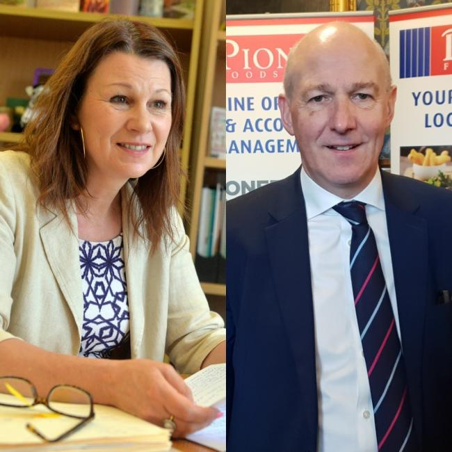SPLIT OPINION: Sue Hayman, MP for Workington, will not vote for the Brexit deal. John Stevenson, MP for Carlisle, is going to vote for the new deal today