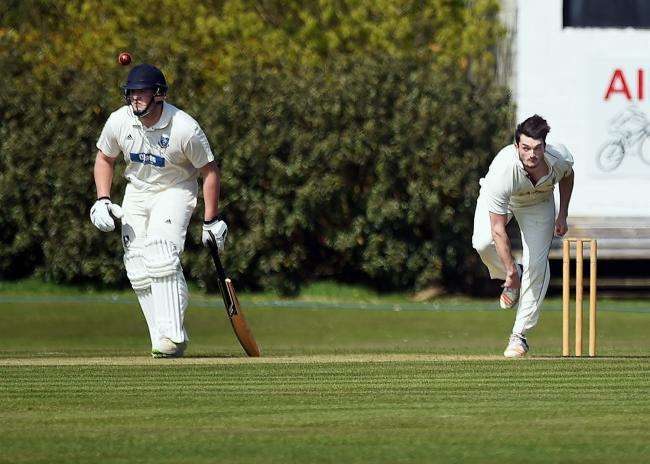 David Blackwell: Impressed for Cleator Cricket Club on Saturday, taking nine wickets in their win (Photo: Mike McKenzie)