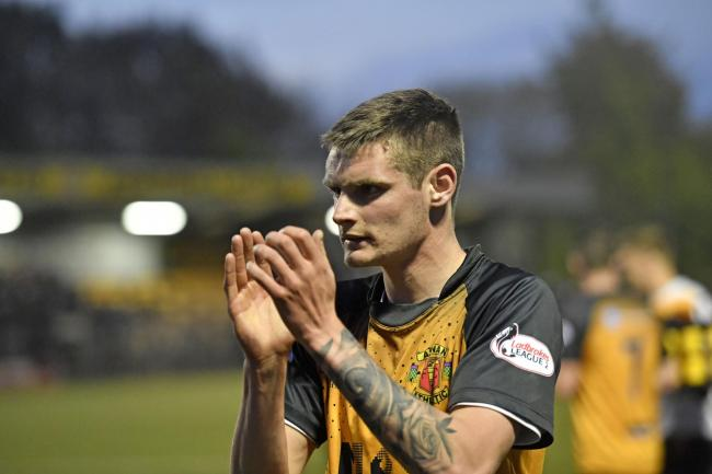 Tommy Muir: Scored twice for Annan Athletic in their Scottish Cup draw with Brechin City (Photo: Stuart Walker)
