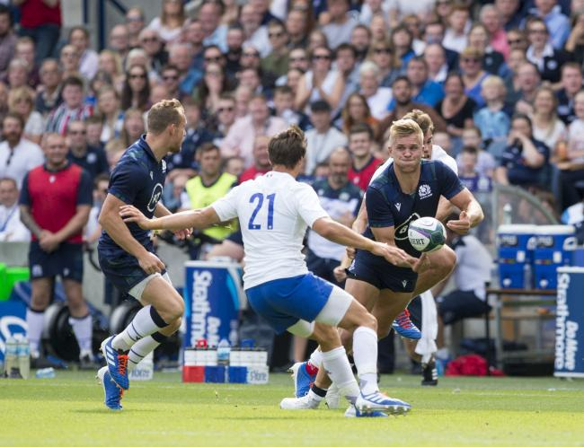 Chris Harris: Ready for Scotland's Rugby World Cup opener this weekend