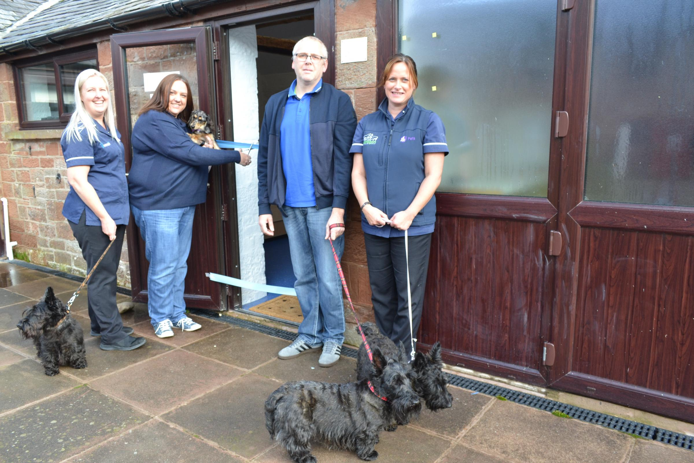 Wetheral's new vets' practice