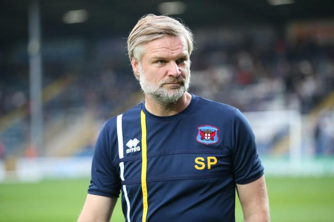 "Pressley: Said his players were ""exceptional"" in south Wales"