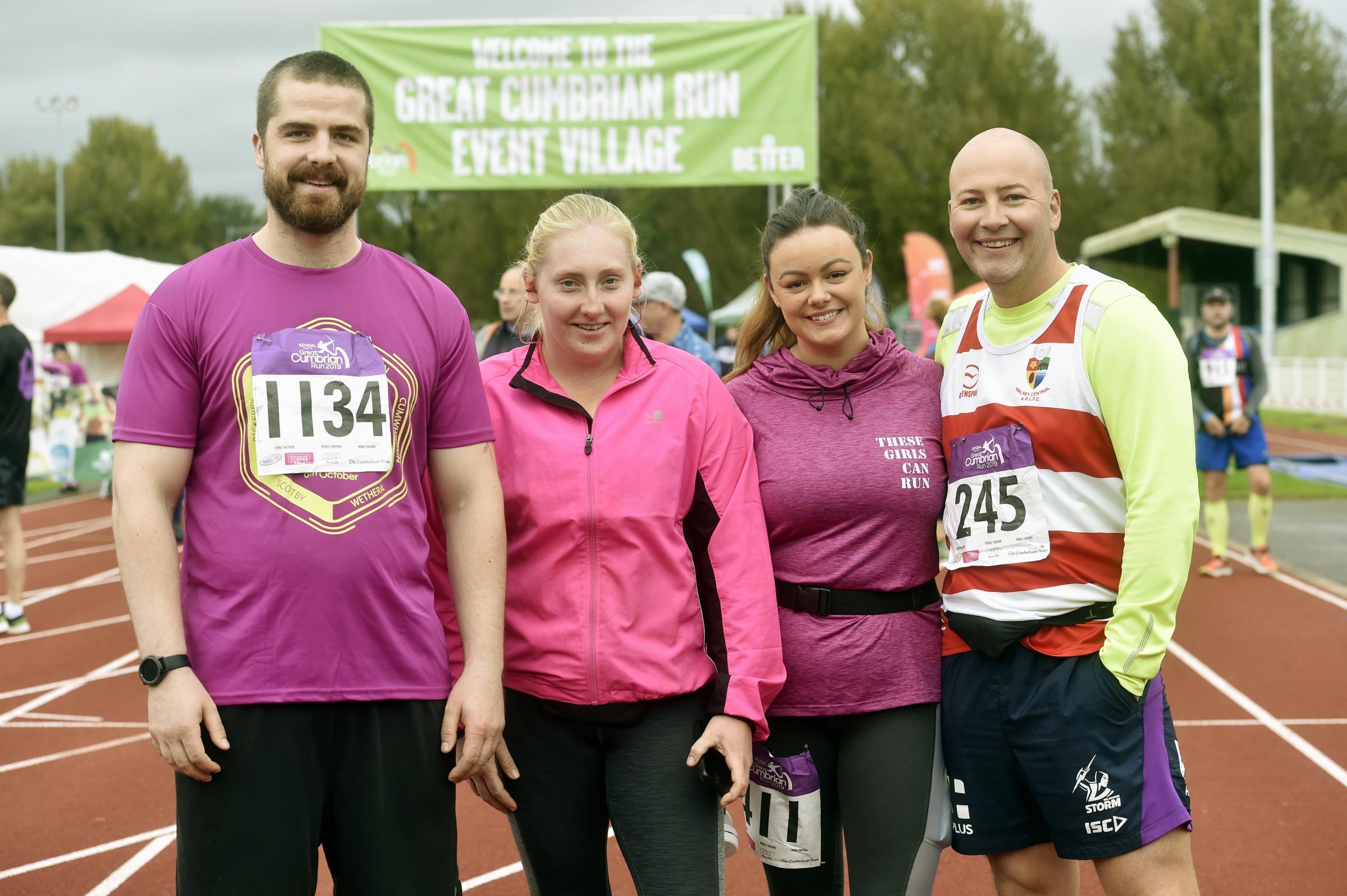 Praise for Cumbrian Run