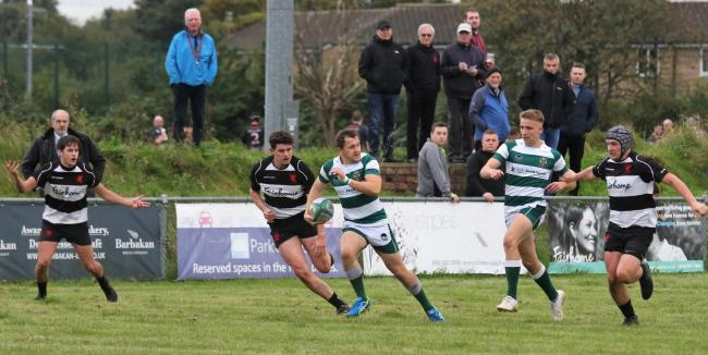 Jay Rossi: Got the ball rolling with two tries for Penrith Rugby Club in their win over Birkenhead Park (Photo: David Nattrass)