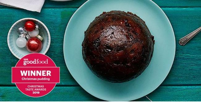 Deluxe 24 month matured Christmas pudding from Lidl